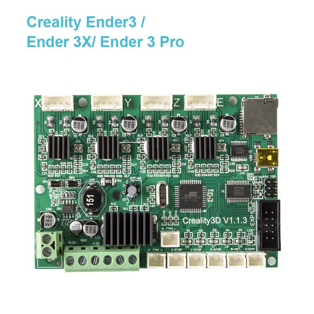 Ender 3 Creality Original Replacement Mainboard Motherboard Upgrade Version V1.1.3 for Ender 3//Ender 3 Pro//Ender 3X