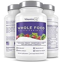 VitaminIQ Multivitamin for Women, Whole Food Vitamin, Antioxidant Rich Supplement...