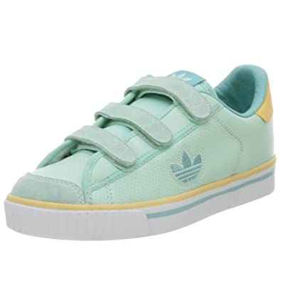 be68ac8faa9 Adidas Originals Women's Tactic VC Leather Sneaker, Green/Sun/Splash, 5 M:  Buy Online at Low Prices in India - Amazon.in