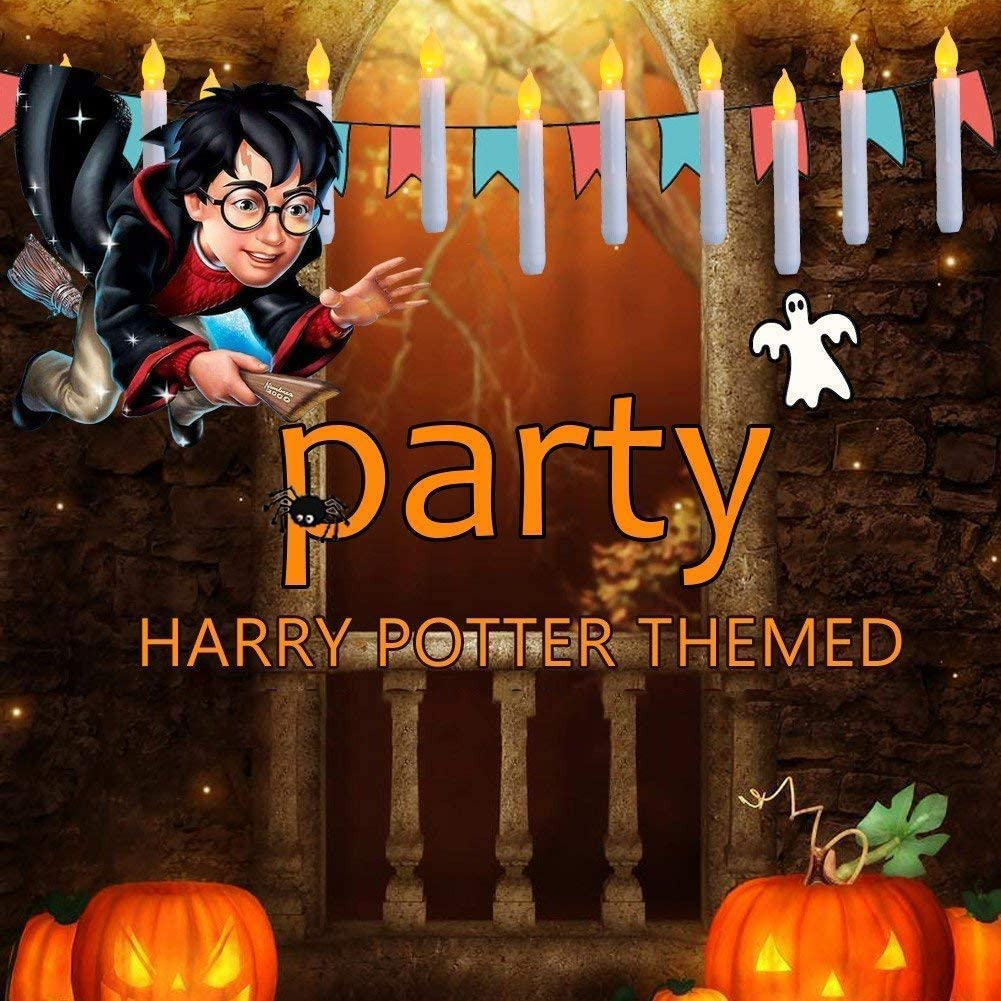 Amazon.com: Harry Potter - Velas LED con temporizador sin ...