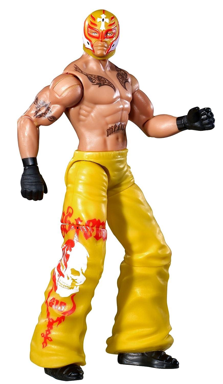 WWE Flexforce rund House Kickin Rey Mysterio Action Figur