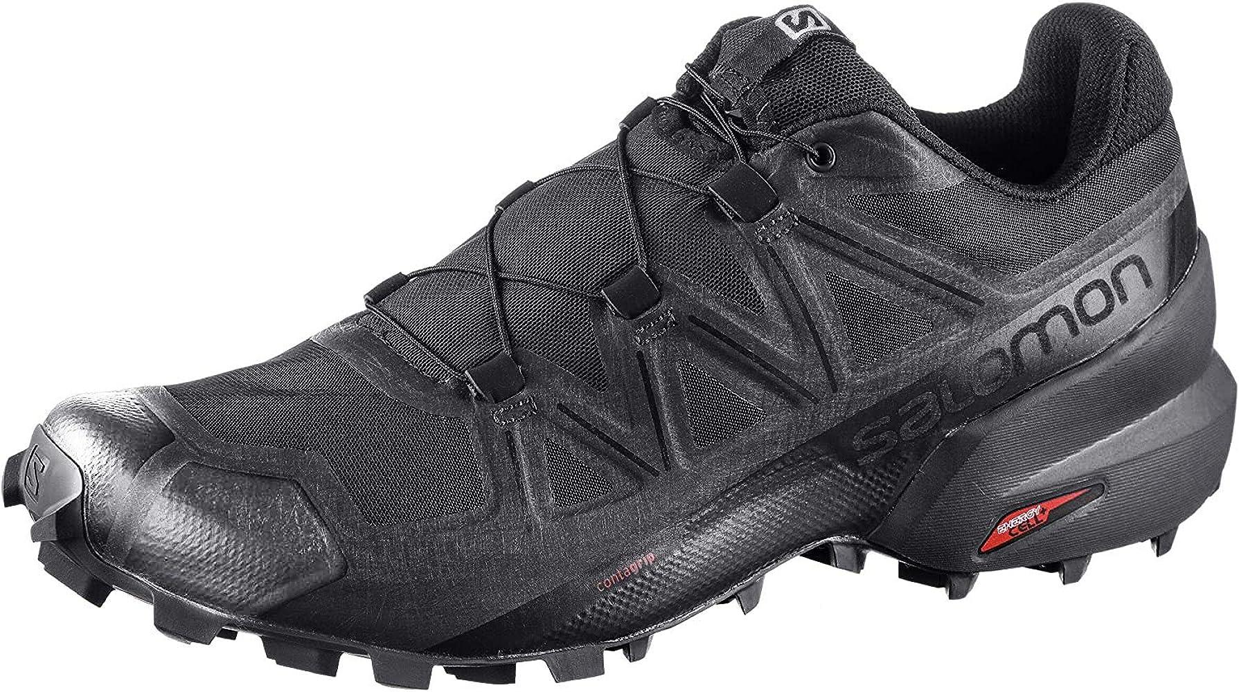 SALOMON Shoes Speedcross, Zapatillas de Running para Hombre, Negro (Black/Black/Phantom): Amazon.es: Zapatos y complementos