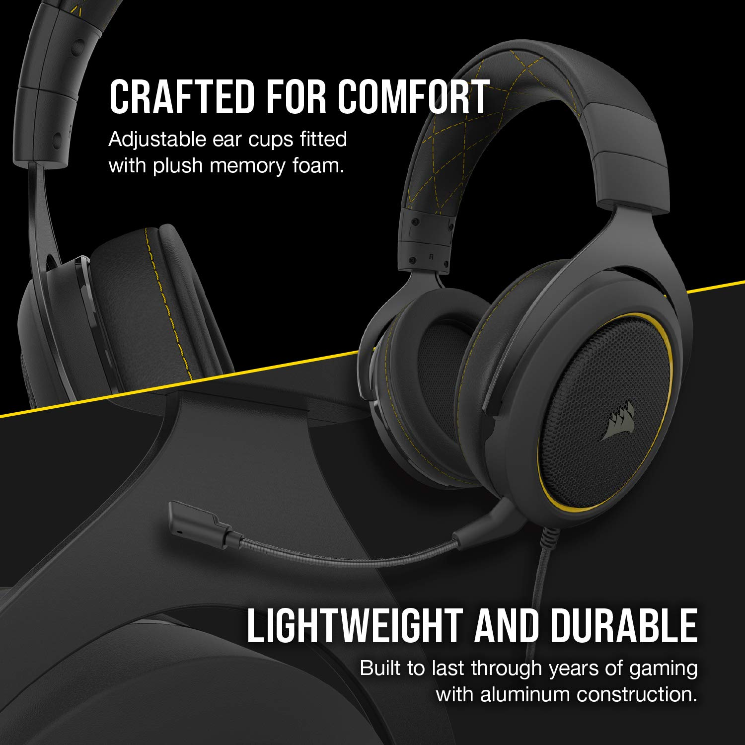 Corsair HS50 Stereo Gaming Headset (Unidirectional Noise Cancelling,  Optimised Unidirectional Microphone, On-Ear Control with PC, Xbox One, PS4,  Nintendo Switch and Mobile Compatibility) - Green- Buy Online in Sri Lanka  at desertcart.lk.