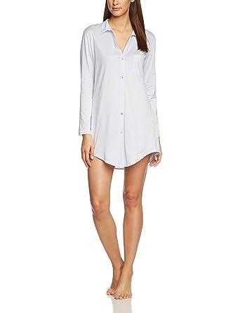 160d7292 Amazon.com: HANRO Women's Cotton Deluxe Boyfriend Sleepshirt: Hanro ...