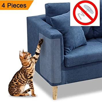 POPETPOP Pegatina rascadora para Gatos Petaca Protector para rasguños para Gatos Pegatina raspado para Gatos Protector para arañazos para Gatos Escudo para ...