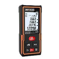 Télémètre laser numérique 60M Meterk Sauvegarder les données Avec la livraison de la batterie MK60 Mini-télémètre portable