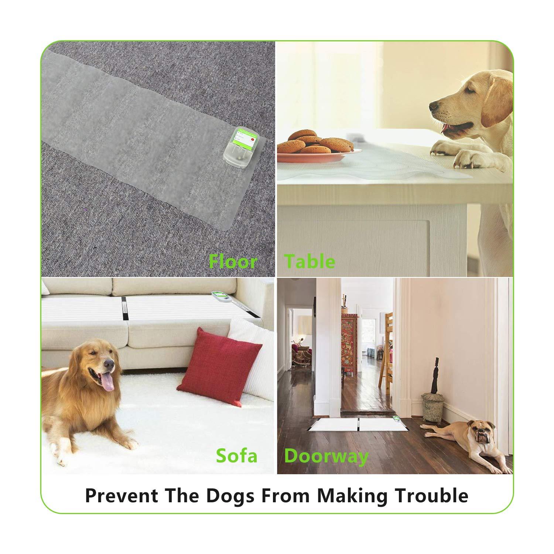 Colourstone Alfombra Mascotas Electrónico, 3 Modos Uso en Interiores Estera de Entrenamiento con indicador LED para Gatos y Perros,12x60 Pulgadas: ...