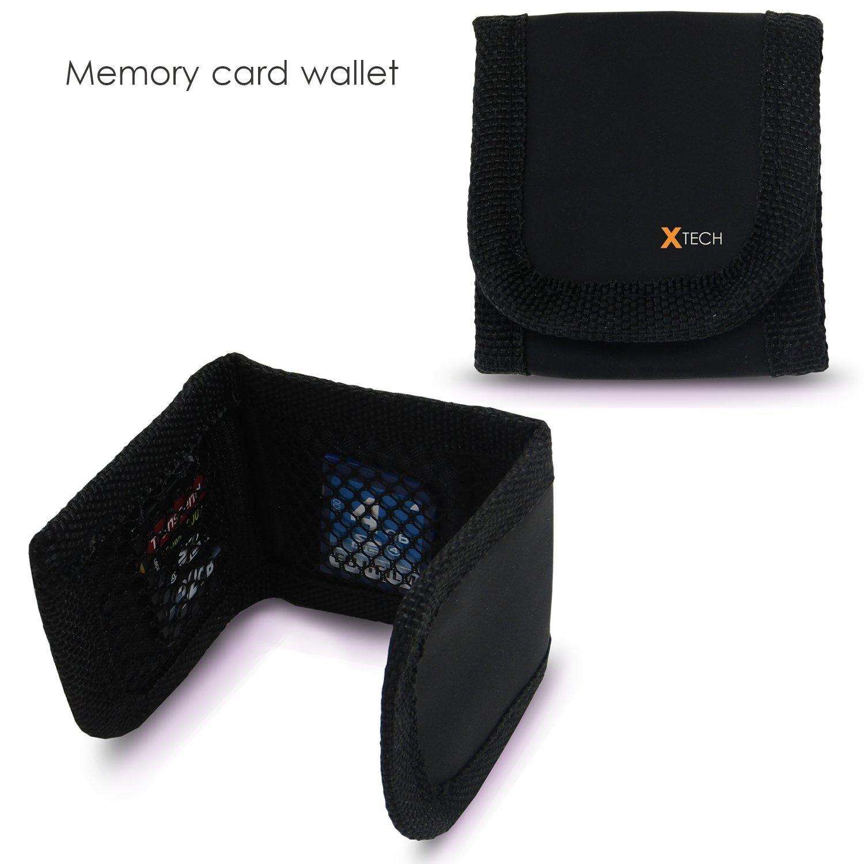 5 Pack SanDisk 16GB SD Memory Card (80gb Total) UHS-I Class 10 80MB/s + Memory Card Reader / wallet bundle kit by HeroFiber (Image #3)