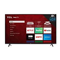 Deals on TCL 55S425 55 inch 4K Smart LED Roku TV