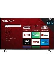 TCL 43S425  43 Inch 4K Ultra HD Smart Roku LED TV (2018)