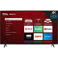 $299 » TCL 55S425 55 inch 4K Smart LED Roku TV (2019)
