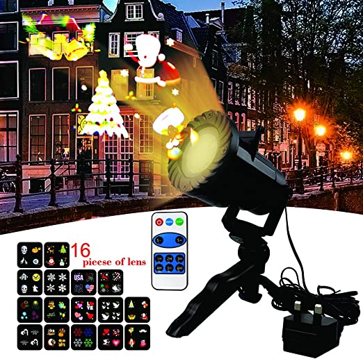 LED Lámpara de Proyección de Navidad,luces de proyector con ...