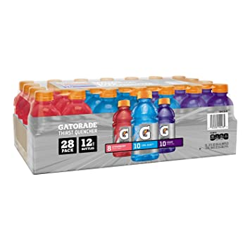 2031adbd8a730 Gatorade Thirst Quencher Variety Pack - 12 oz, 28pk (8 Strawberry, 10 Cool  Blue, 10 Grape)
