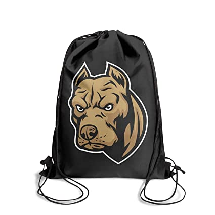 a6537aa3bae4 GkitRoyal Cute Aggressive Bulldog Shoulder Drawstring Bags Perfect String  Backpack Adjustable Strap Sport Travel