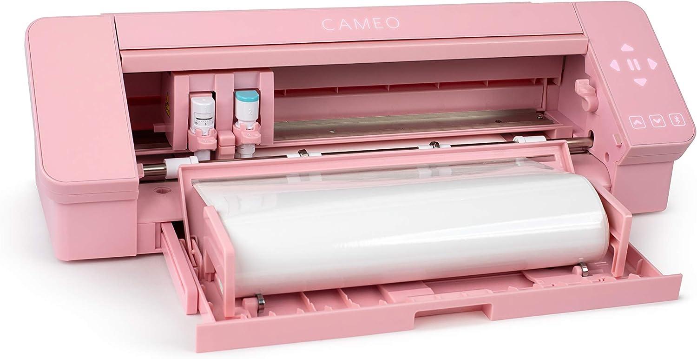 Silhouette Cameo 4 AutoBlade - Alfombrilla de Corte, Color Rosa, 30,5 cm: Amazon.es: Informática