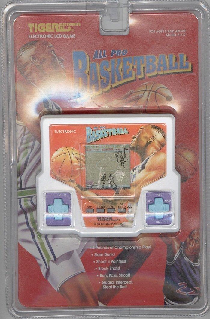 【名入れ無料】 [タイガークラシックゲーム]Tiger Classic Games All Pro Basketball 1994 Tiger Handheld Electronic LCD Game Model 7717 7-717 [並行輸入品] B005851IBC, リードストア c5d2a036