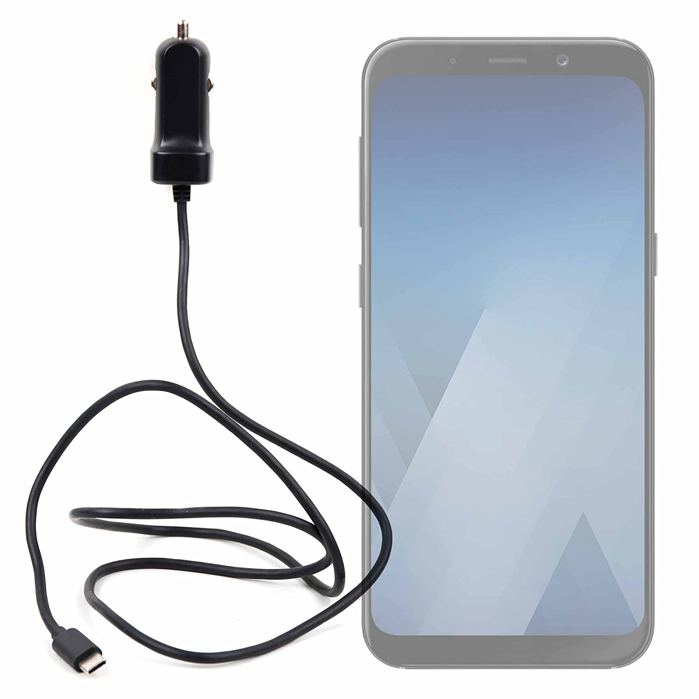 DURAGADGET Cargador USB-C para móvil Samsung Galaxy A8 (2018 ...