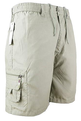 Smart Wear Clothing Mens Cargo Summer Shorts Cotton Plain Combat Pants Sizes M L XL XXL New