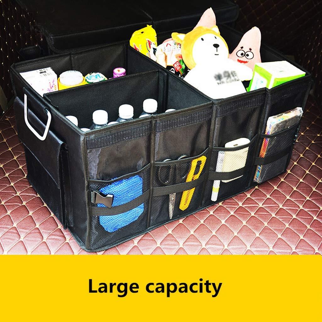 Car Storage Box Car Storage Box Trunk Storage Box Multi-Function Shape Folding Car Storage Box Glove Box (Color : Gray, Size : L) by Cxp Boutiques-Car Boot Bags (Image #7)