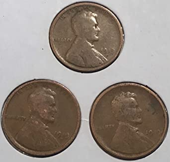 1909-1939 WITH STEELIES NO 1940 OR 1950 COINS!!!!! 1 POUND WHEAT CENT BAG