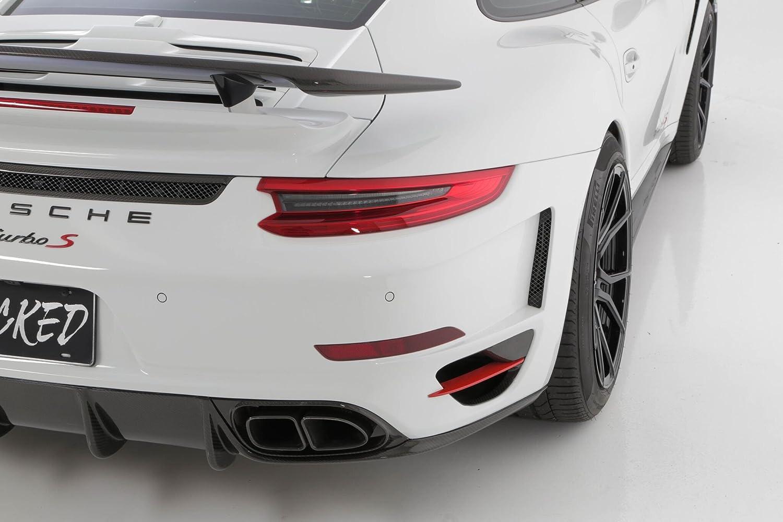 Amazon.com: Porsche Turbo / S Aggressive Rear bumper w/ 991.2 LED Taillights: Automotive