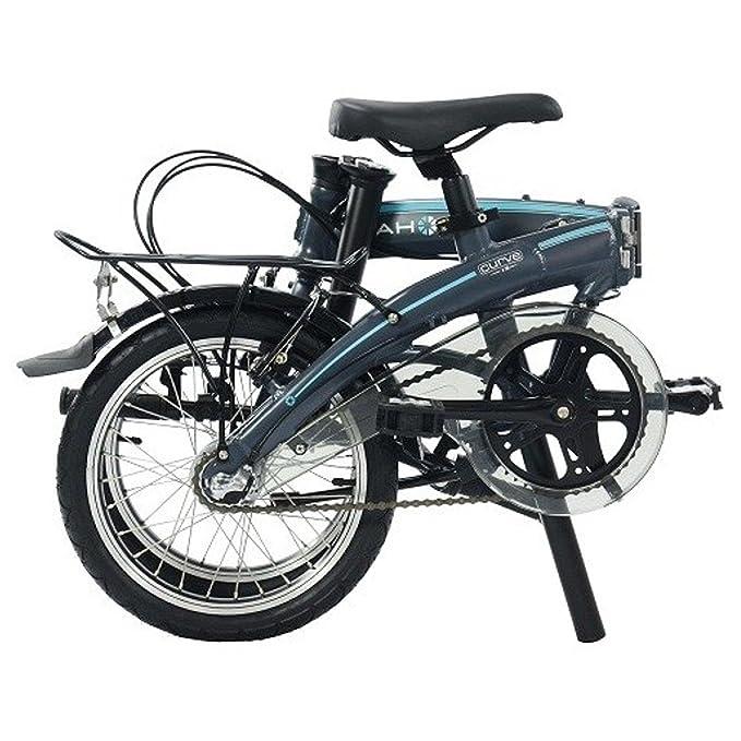 Dahon Faltrad CURVE i3 3 Gang ND Grau 16 Zoll Faltrahmen Klapp Fahrrad Shimano Nexus Aluminium, 916752: Amazon.es: Deportes y aire libre