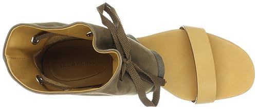 715d7d7fbeb11 Amazon.com | See By Chloe Women's Ankle Cuff Open-Toe Flat Sandal ...