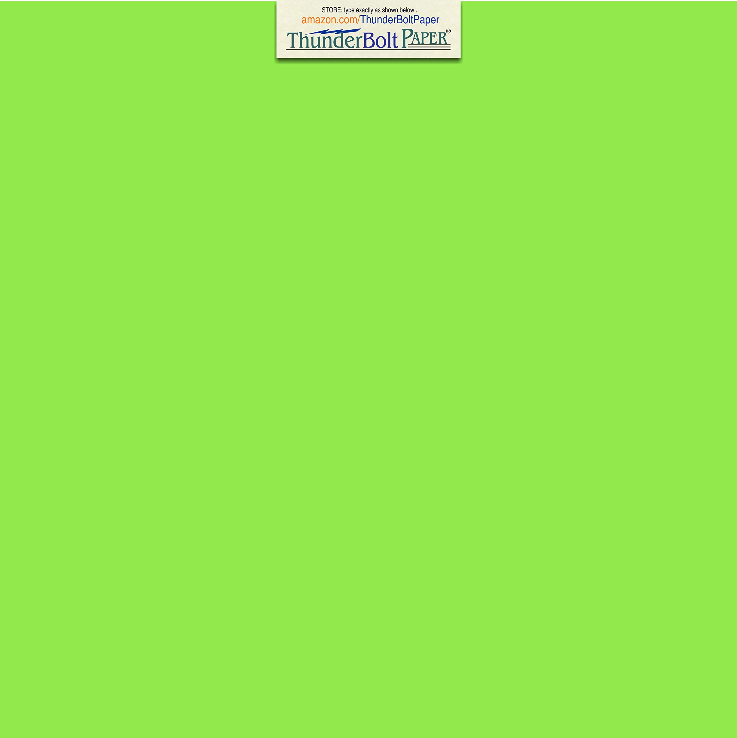 150 Bright Mint Green 65lb Cover Card Paper - 12 X 12 Inches Scrapbook Album Cover Size - 65 lb/Pound Light Weight Cardstock - Quality Printable Smooth Surface for Bright Colorful Results