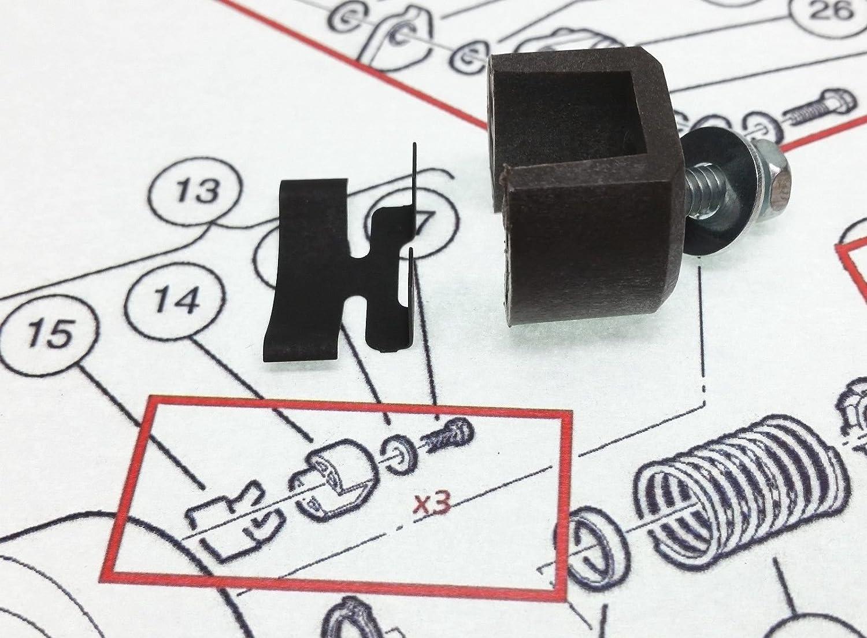 Amazon.com : OEM Club Car Golf Cart Drive Clutch Rebuild Kit/Parts on club car golf cart headlight wiring diagram, club car golf cart front suspension diagram, club car golf cart ignition wiring diagram,