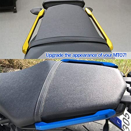 Fatexpress Motorcycle Cnc Aluminium Rear Passenger Socius Seat Grip Rail Kit For 2013 2016 Yamaha Mt Fz 09 Mt 09 Fz 09 Mt09 Fz09 2014 2015 13 16 Auto