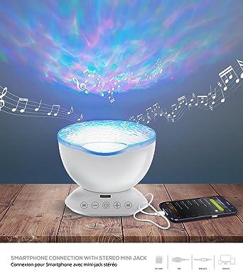 Lampe musik und led deko, deko music im salon diffuser lampe ...