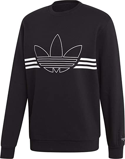 A D I D A S Black, black and black | Adidas sweater