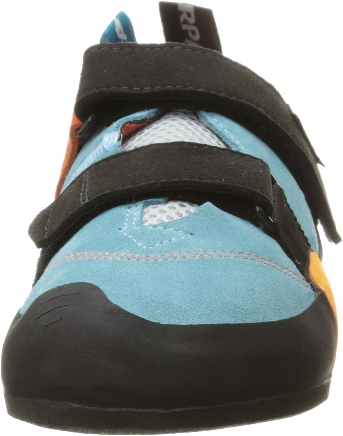 SCARPA Womens Force V WMN Climbing Shoe Ice Fall//Mandarin Red 40.5 EU//8 2//3 M US