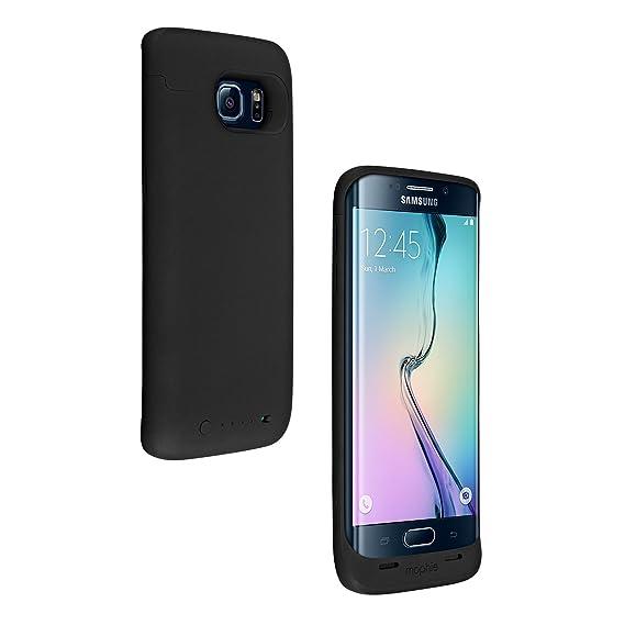 lowest price 3da7e 2cc82 mophie juice pack for Samsung Galaxy S6 Edge (3,300mAh) - Black - (Renewed)