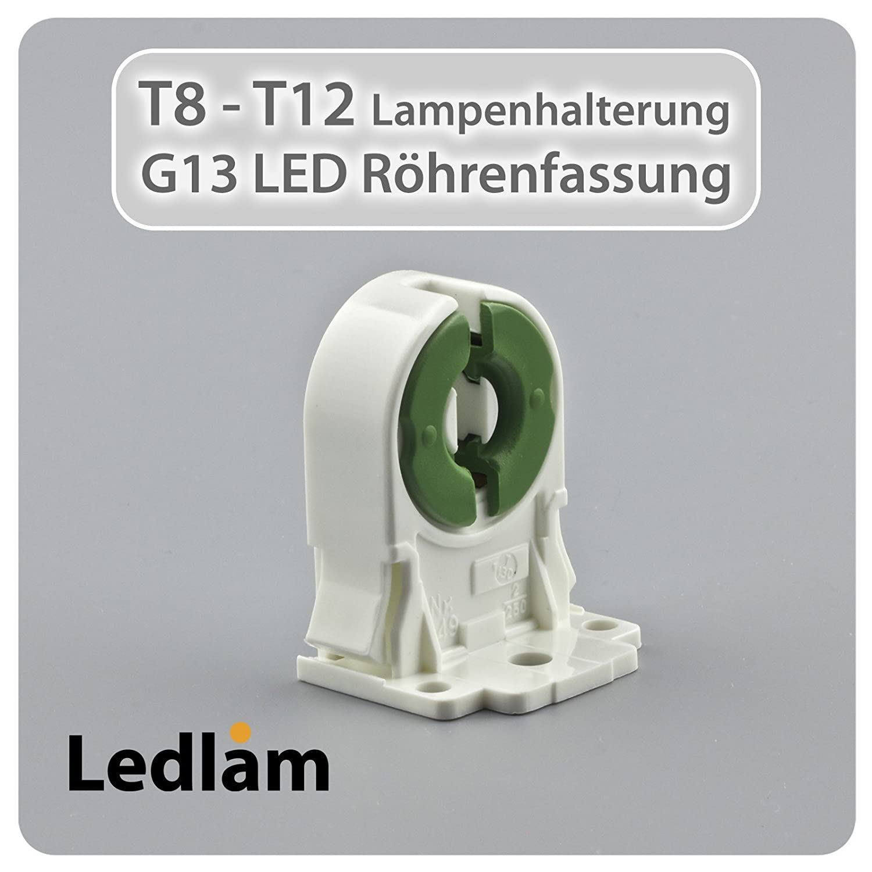 Ledlam t8 t12 g13 tube lamp holder socket fitting amazon ledlam t8 t12 g13 tube lamp holder socket fitting amazon lighting parisarafo Images