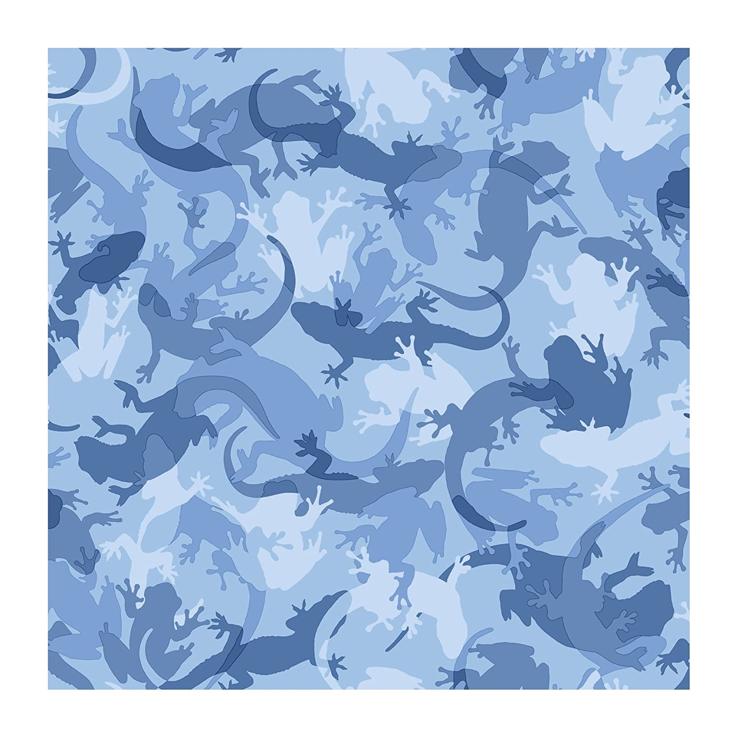 8-Inch x 10-Inch York Wallcoverings CK7805SMP Candice Olson Kids Critter Camo Wallpaper Memo Sample