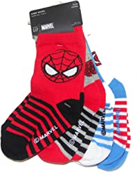 9a90cdb84a74 Marvel x BABY GAP Spider-man & Captain America Crew socks 4 pairs pack -