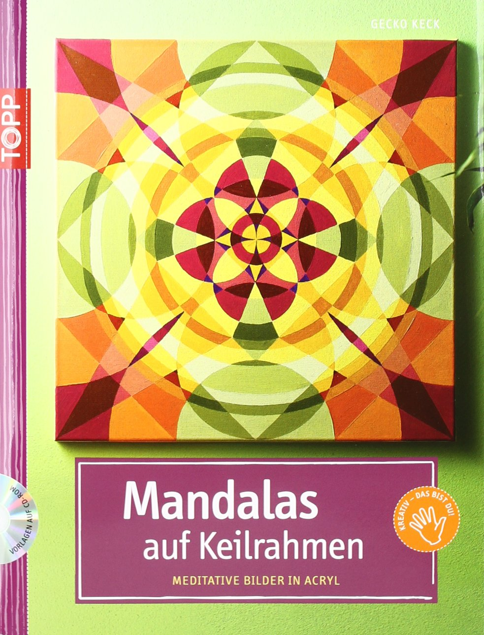Mandalas auf Keilrahmen Meditative Bilder in Acryl Amazonde