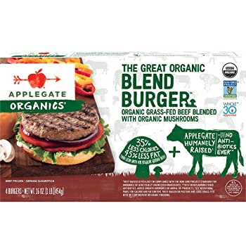 Applegate The Great Organic Frozen Burger