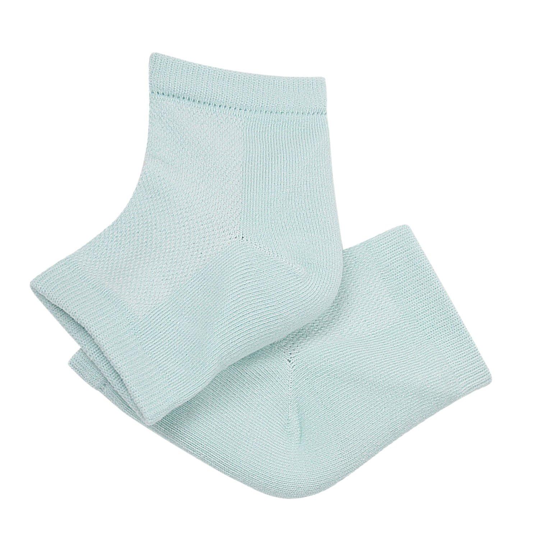 Kapmore Heel Socks Dry Feet Socks Foot Skin Protector Open Toe Foot Care Socks Gel Moisture Socks for Men Women