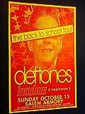 Deftones Incubus Salem Armory Rare Original Punk