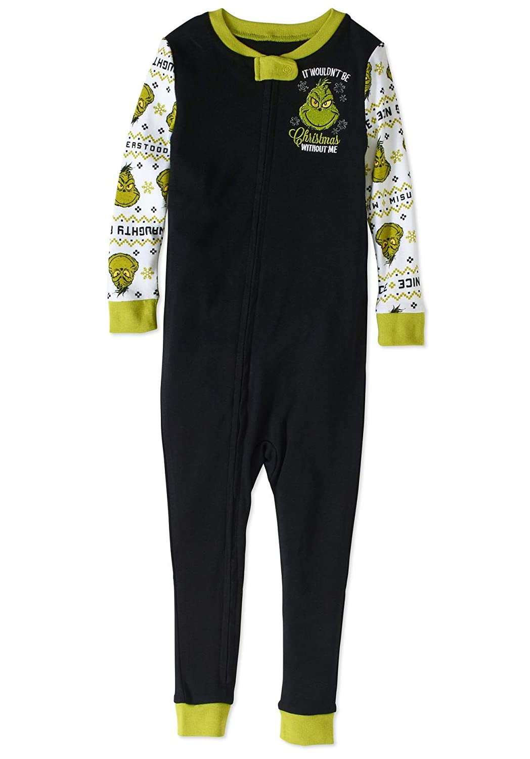 The Grinch Christmas Holiday Pajamas Baby Toddler Unisex Footless Sleeper RB3579223U