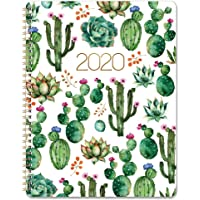 """Planner 2020 - Weekly 2020 Planner with Flexible Cover, Jan 2020 - Dec 2020, 8.5"""" x 11"""", Strong Twin - Wire Binding, Round Corner, Improving Your Time Management Skill"""