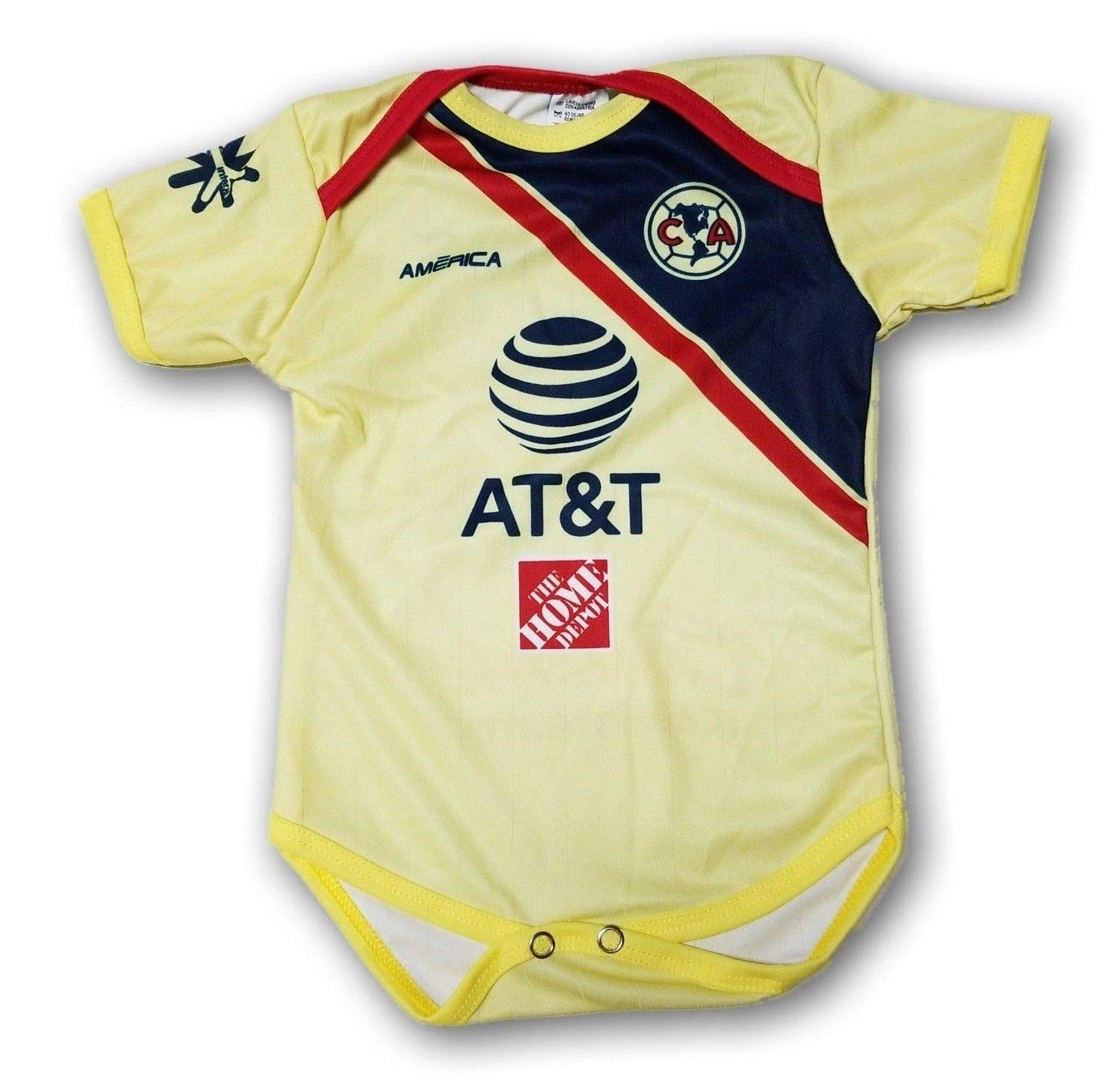 newest 49eb3 ea0bb New Club America aguilas newborn Jersey