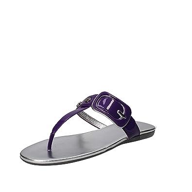 6a914d8f746859 HOGAN Sandals Womens Purple 6 US