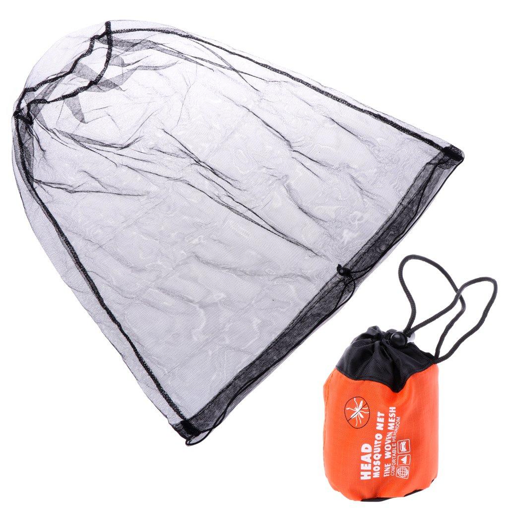 Guoyy 2018 Pesca Sombreros Pesca Tapa Anti Mosquito Bug Abeja Insectos Malla Sombrero de Cara Proteger Net Protecci/ón Camping Viaje Protectora