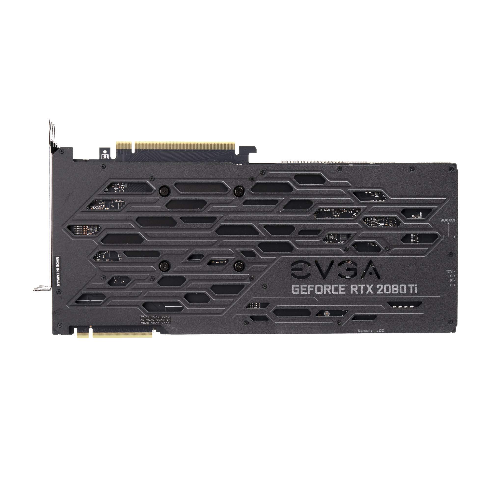 EVGA GeForce RTX 2080 Ti FTW3 Ultra Gaming, 11GB GDDR6, iCX2 & RGB LED Graphics Card 11G-P4-2487-KR by EVGA (Image #7)