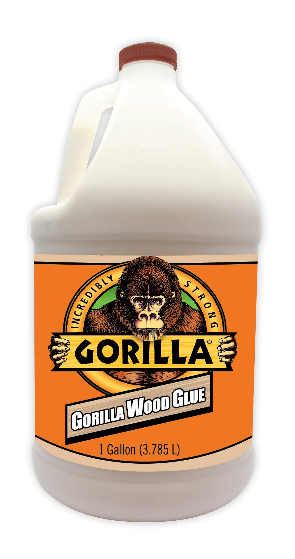 Gorilla 6231501 Gallon Wood Glue Natural Color