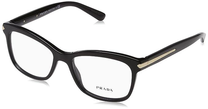 804ead57b138 Amazon.com  Prada Unisex 0PR 10RV Black 2 One Size  Shoes