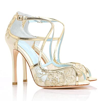4fe5878ffaf Bella Belle Gold Lace Wedding TES 6